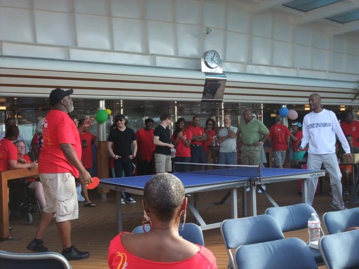 Ping-Pong Tournament Photo: Chris Gibbons