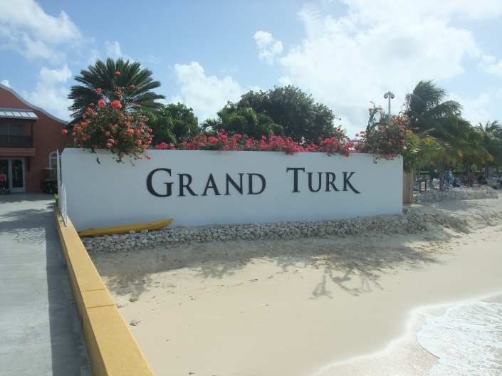 Entrance to Grand Turk Photo: Chris Gibbons