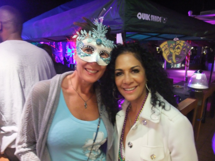 Chris with Sheila E