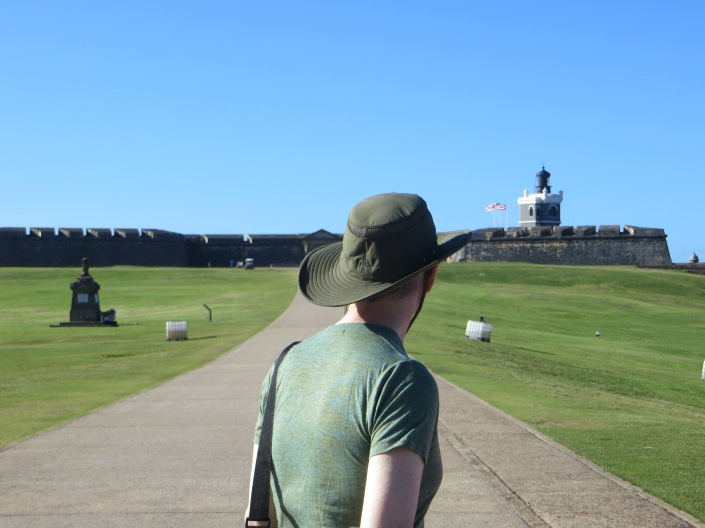 At El Morro Fort