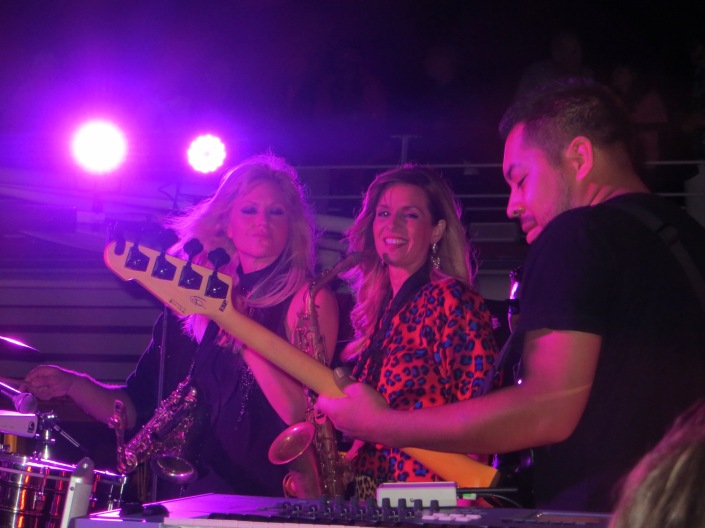 Mindi Abair and Candy Dulfer onstage!