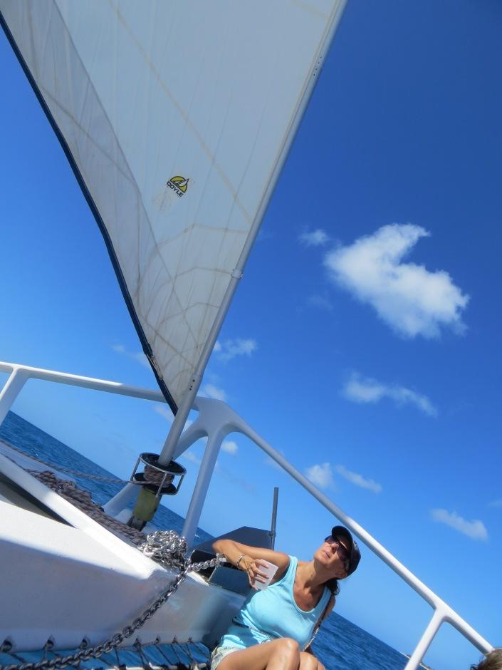 Sailing, sailing....