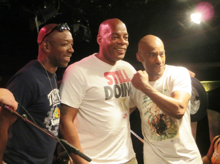 Larry Braggs, Alonzo Bodden and Marcus